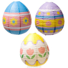 Easter Colorful Paper Egg Lantern Decorations