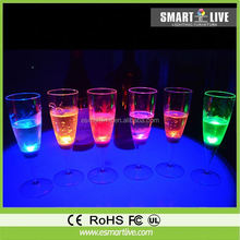colorful led cup plastic drinking glass with light
