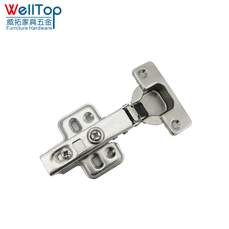 self Iron slow closing cabinet half overlay door hinge VT-16.006