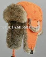 BY-001 rabbit fur hat rabbit hat