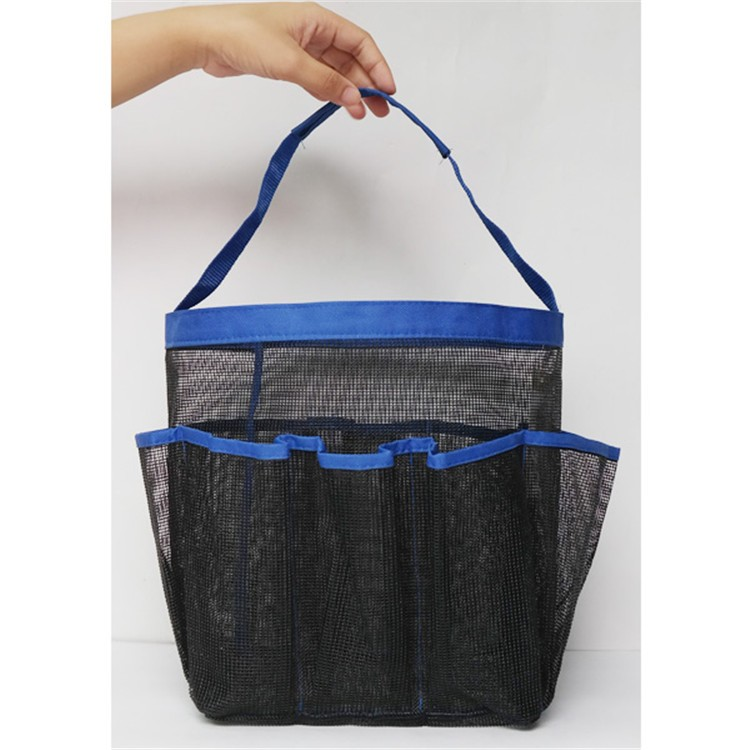 Mesh Shower Tote Caddy Baskets Hanging Bag Toiletry Bath Organizer College bag