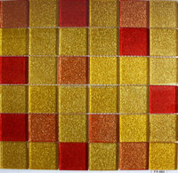 Star Glass mosaic tile for home decoration. Classic glass mosaic. 100% guarantee of quality.