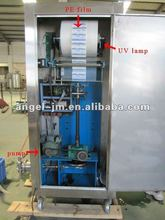 China Automatic bag water filling packaging machine with R.O. machine or U.F. system