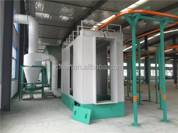 automatic well-equiped powder coating line/electrostatic coating equipments with best service
