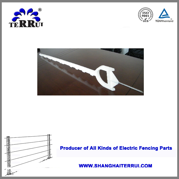 Alibaba China Plastic Fencing Stake/Electric Fencing Post for Electric Fence