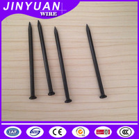 High strength High hardness black carbon steel concrete nails factory