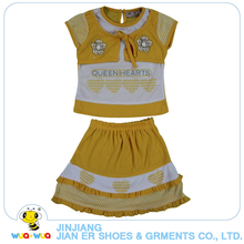 New style factory price fashion designs summer baby girl clothes