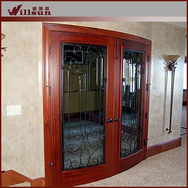 La puerta principal utiliza las puertas exteriores para la Puertas corredizas hierro