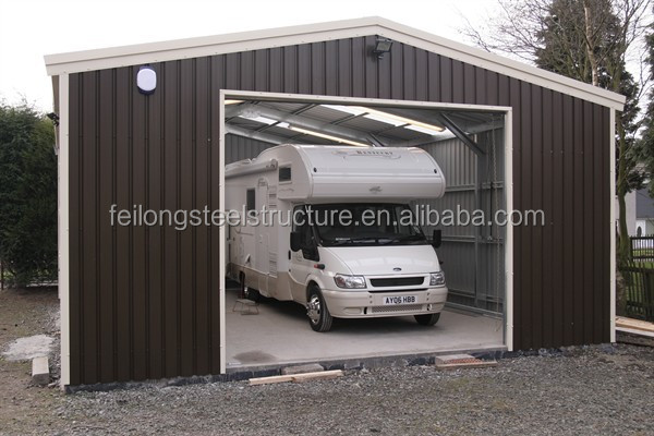 High quality steel structure garage car and used carports for sale