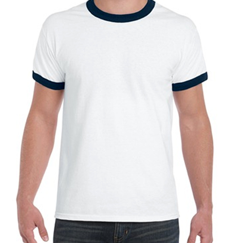 Single jersey t shirt,tubular style printing ringer t shirts,cheap o-neck tee shirts