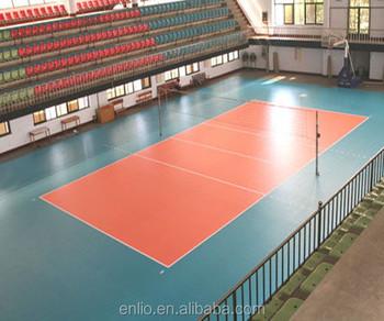 Indoor Volleyball sports floor court/PVC floor for Volleyball, View ...