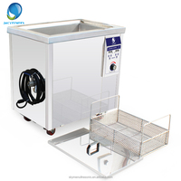 40KHz 50L industrial bike chain/hardware parts ultrasonic cleaner with power adjustable