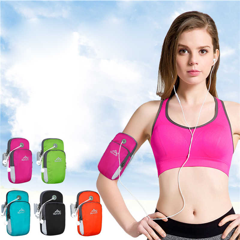New products good quality outdoor running waterproof phone arm bag with arm strap