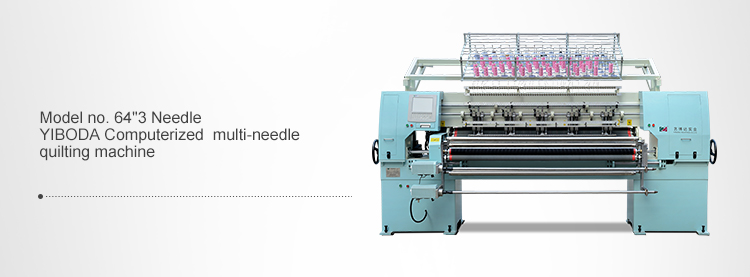 YBD333 industrial 33 heads computerized quilting embroidery machine with 101.6mm needle distance