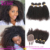 Free Chemical Treat Factory Wholesale Price Unprocessed Brazilian Human Hair Afro Kinky Curly Hair Extension