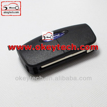 Best price car key Ford Focus remote key 433Mhz 4D63 chip ford remote flip key