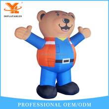 2017 Bear Cartoon Inflatable Advertising,Customized Advertising Cartoon Inflatable Bear