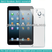 front sticker for ipad,tempered glass screen protector for Ipad mini/mini2