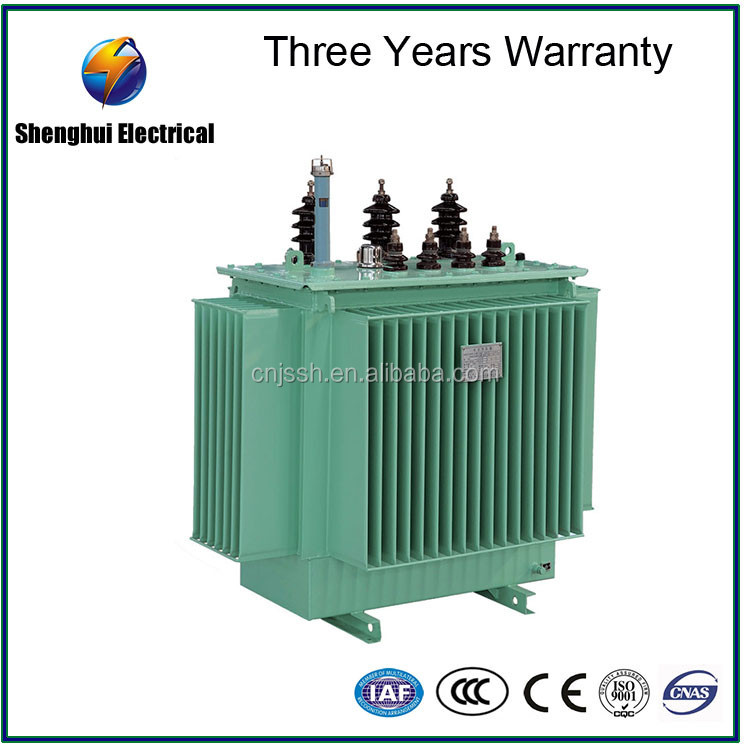 Oil Immersed S9-M-315/33-0.42 COPPER 315KVA oil immersed power distribution transformer 33kv 11kv