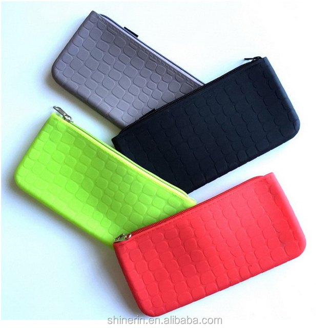 Rectangle Cheap Coin Purse Wallet Kids Pencil Pouch Women Clutch Zipper Hand Wallets