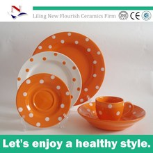 2015 bright colored dinnerware
