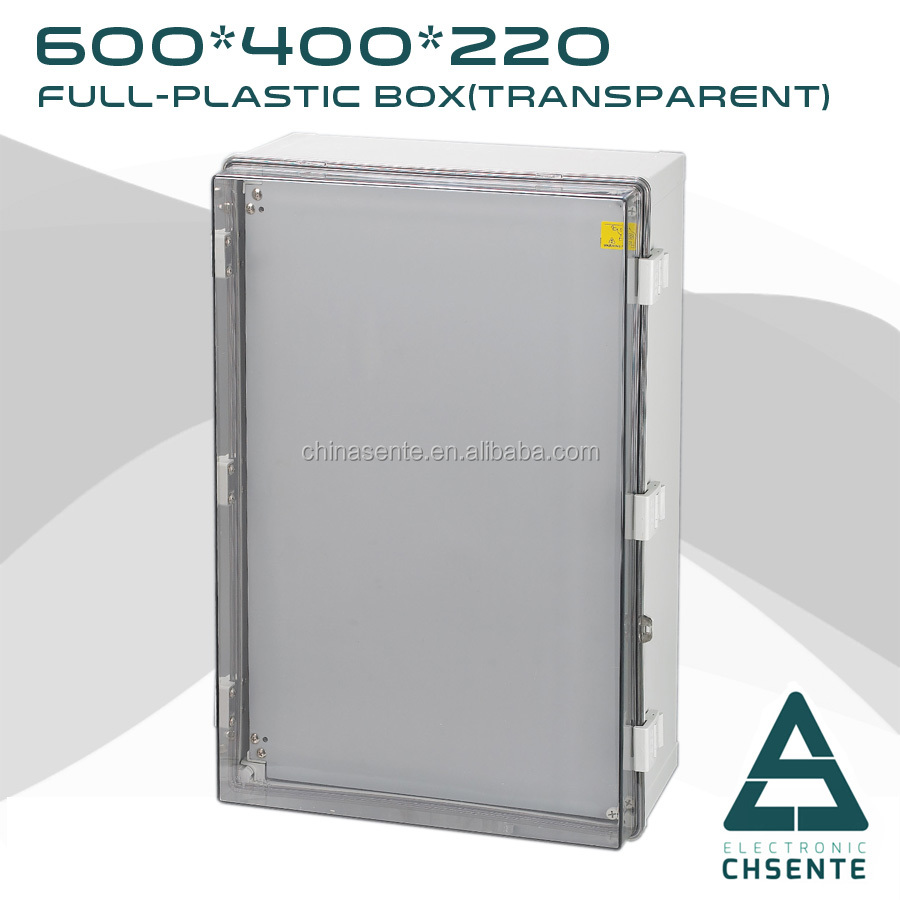 High-strength Insulation 600*400*220mm ABS/PC Outdoor Electrical Junction Box
