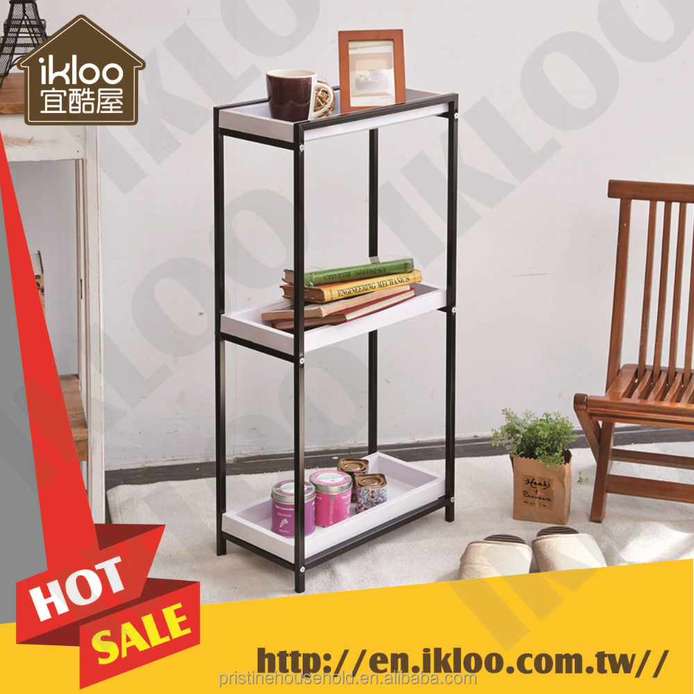 Stacking Racks <strong>Shelves</strong> design 3 tier multi-function Storage rack with tray