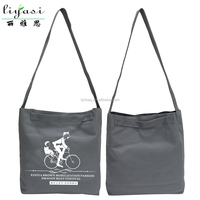 Cotton Material And Handled Style Organic Cotton Shopping Bag