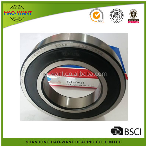 6214 2RS C3 ball bearing made in France 70*125*24