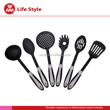 Wonderful design silicone kitchen utensil set for kitchen cooking