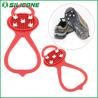 Ice cleats for high heel shoes/ice spikes for ice snow walker