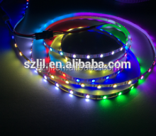 Flexible smd5050 waterproof digital lpd8806 rgb led strip with CE&RoHS
