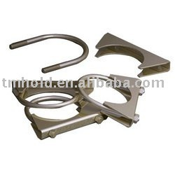 "5/16""carbon steel U bolt exhaust clamps"