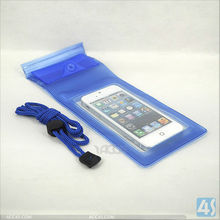 floating bag Waterproof Bag Case for Cell Phone / PDA, Blue P-UNICASE007