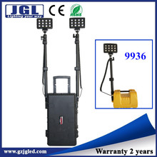 72w dual lights railway maintenance lighting, rechargeable floodlight portable