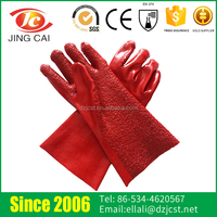 Wholesale Gauntlet Cuffs PVC Coated Hand Gloves Making Machine