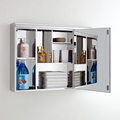 Popular Stainless steel bathroom mirror cabinet wall mounted 7009