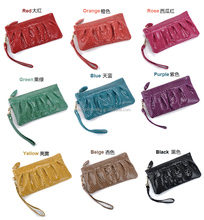 Genuine leather small evening bag purses and clutches