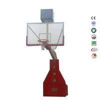 Hydraulic basketball stand basketball pole price