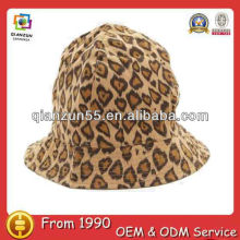 men fashion master striped washed fishing cotton high quality leopard printed bucket hat