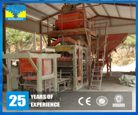 QT8-15 High force concrete cement eco maquinas brick machine