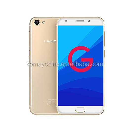 Komay cheap price with high quality orginal 5.0 inch UMIDIGI android 7.0 mobile phone new metallic touch smart mobile phone G