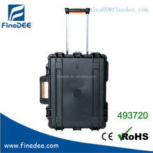 493720 High quality pre-cut Travel case for pistol with Telescoping handle