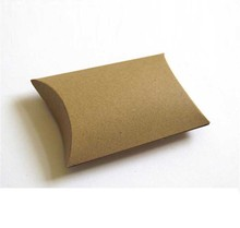 Professional made different types reusable small pillow packaging box