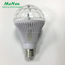 LED rgb rotating lamp Disco Bulb light 3W LED rotating led lamp