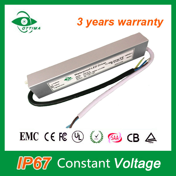 ip65 waterproof led power supply 12w mini power constant voltage 24v dc power supply 2-3 years warranty