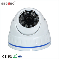 cheap megapixel dome ip night vision ir camera with poe