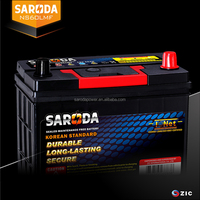 SARODA NS60LMF Super power lead acid storage battery Mintenance free car battery 12V 45AH