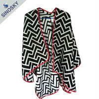 High quality spring winter fashion Women Cape Winter