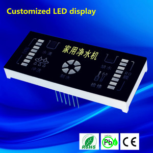 New design LED display parts color screen customized led display